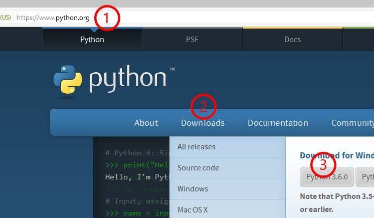 Download Python 3.6.0 for Windows 10